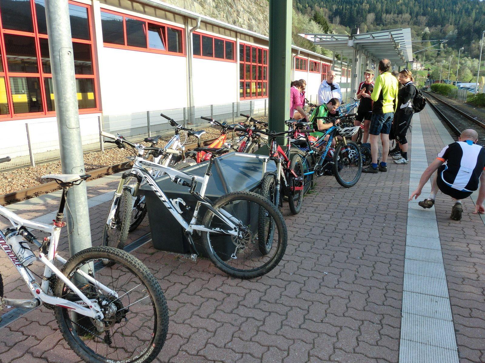 VTT Schwarzenbach Stausee - 6 avril 2014