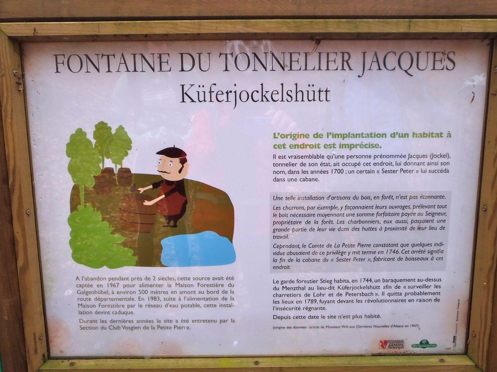 Fontaine du tonnelier Jacques