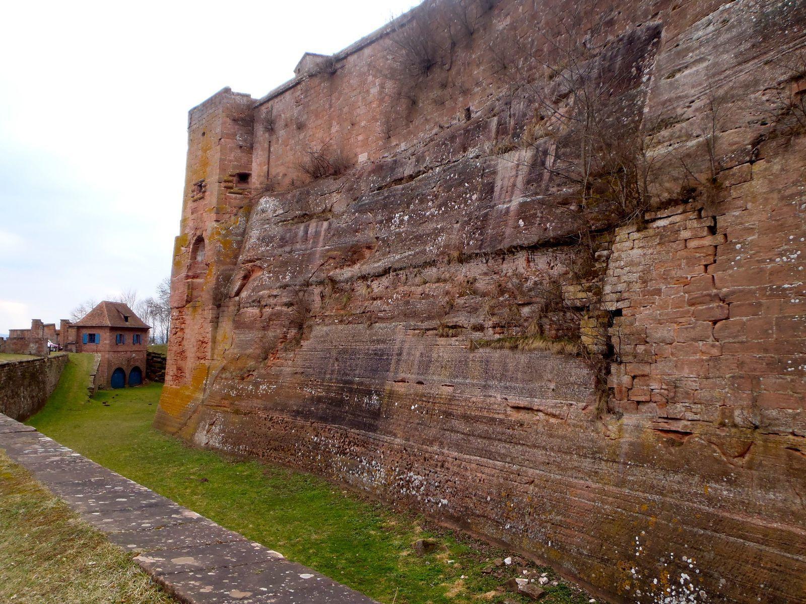 Extérieur du château - mars 2012