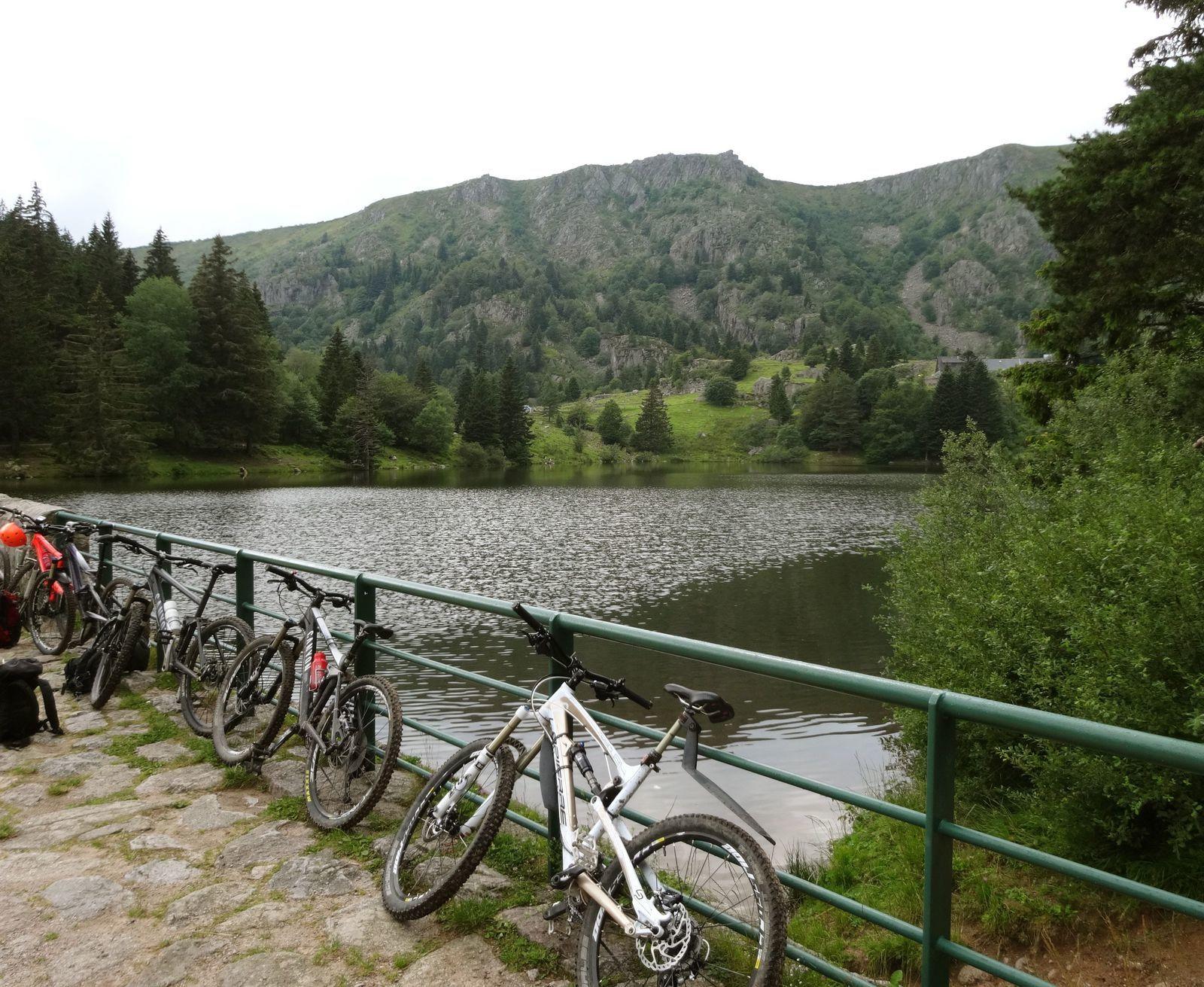 Lac des truites - juillet 2014
