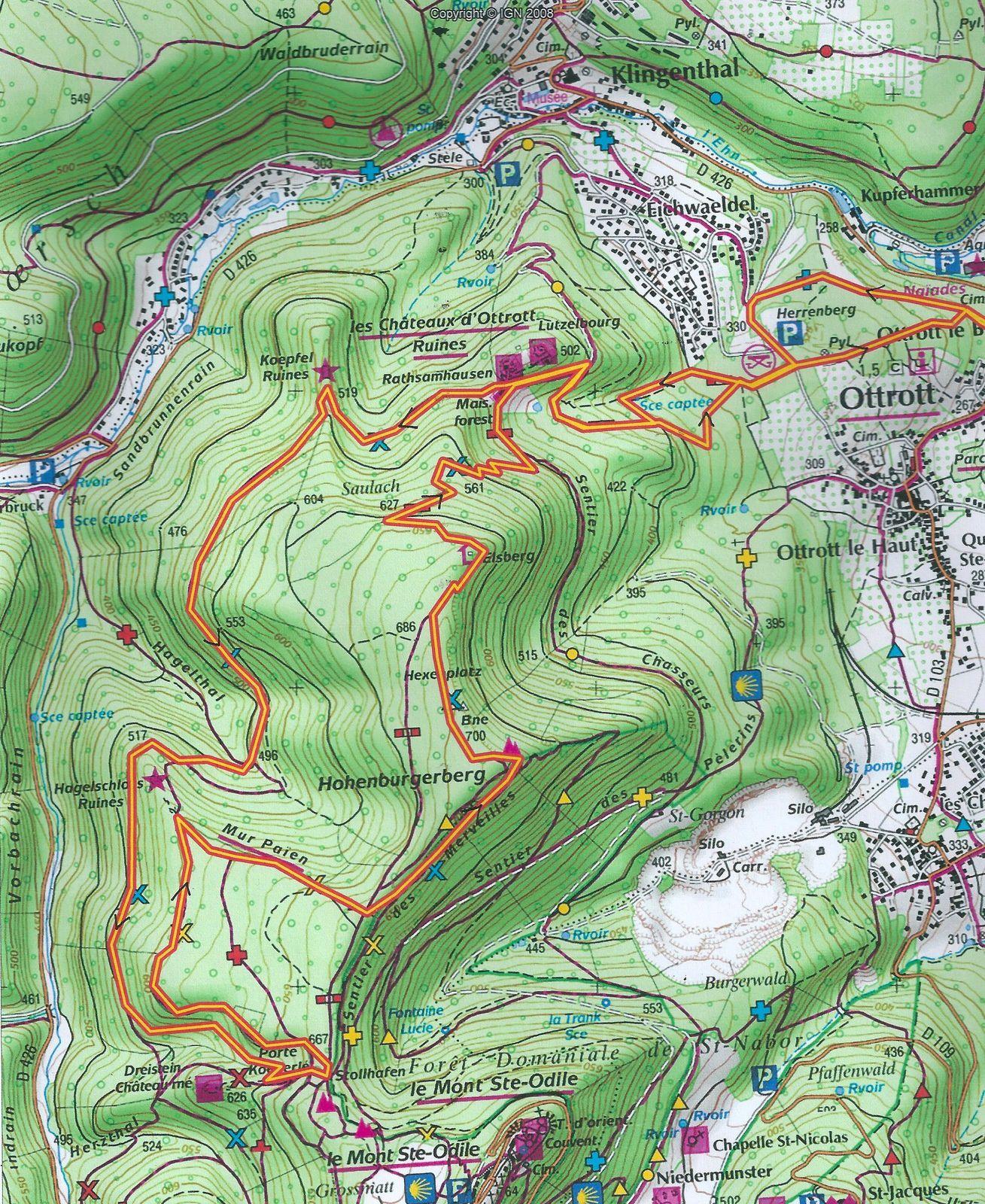 VTT autour d'Obernai - 28 septembre 2014