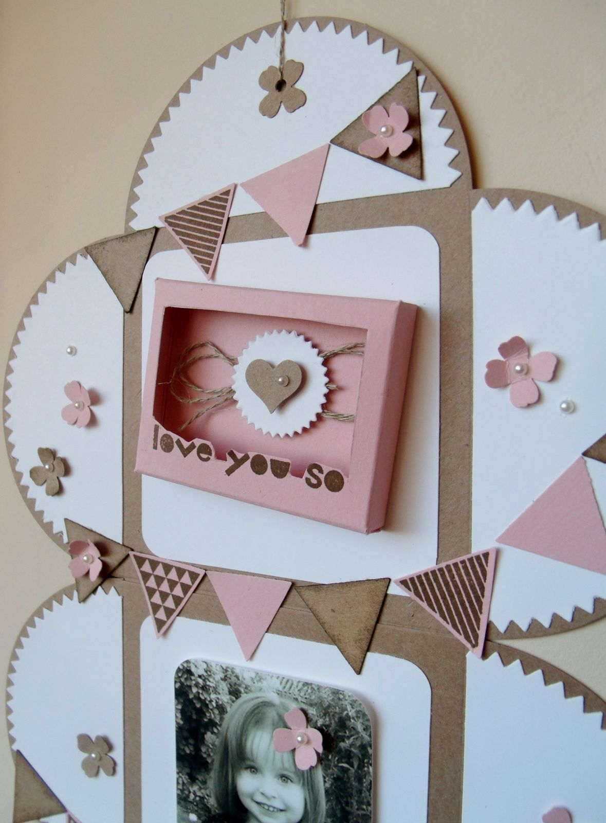 tutoriel home déco en M&amp&#x3B;T à Version Scrap 2015