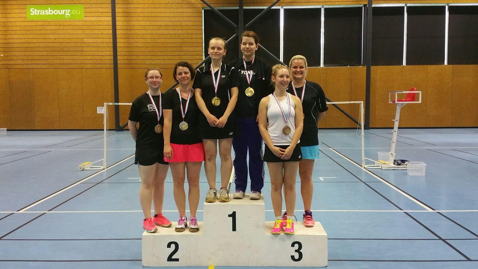 Championnat d'Alsace2016 : Honneurs aux dames !