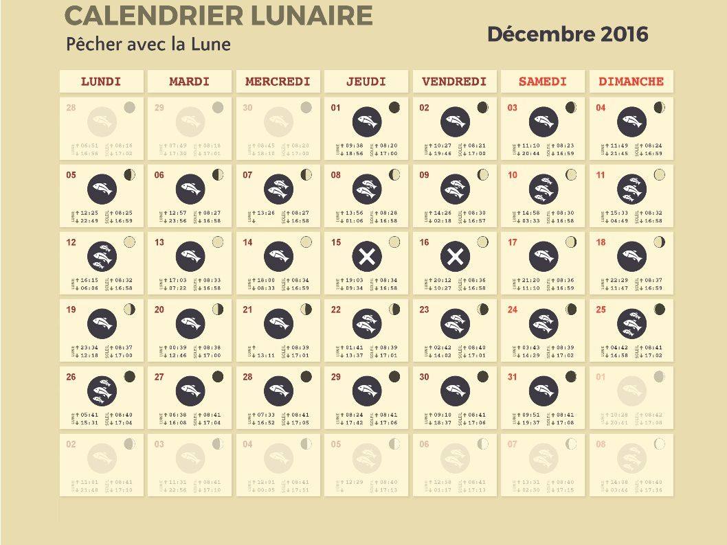 calendrier lunaire peche 2016 calendar template 2016. Black Bedroom Furniture Sets. Home Design Ideas