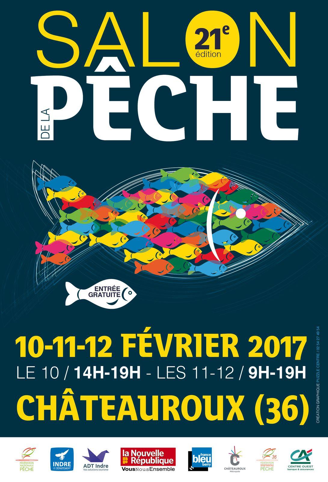 Salon de la p che de ch teauroux 2017 21 me dition for Salon de la podologie 2017