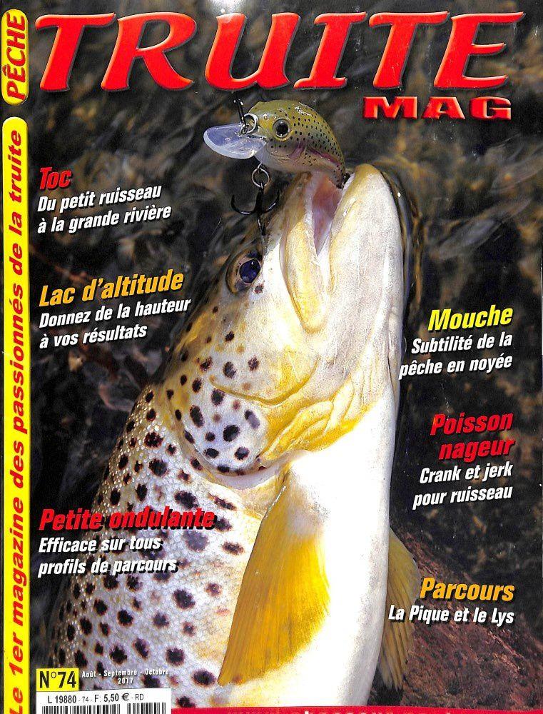 Truite mag 74 ( août, septembre, octobre)