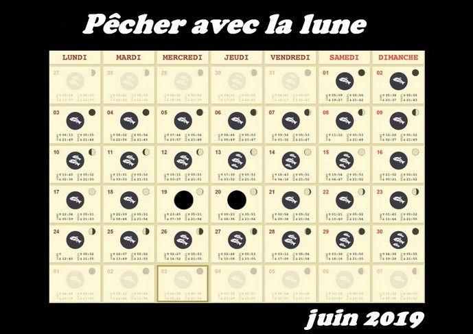 Calendrier Lunaire Notre Temps 2019.Calendrier Lunaire De Juin 2019 Truitepassion Fr