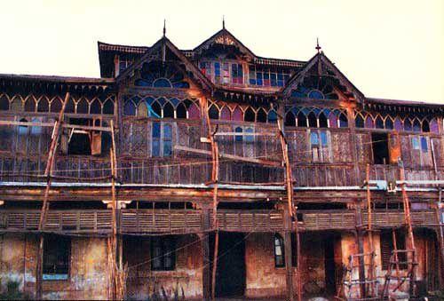 Maison où vécu Rimbaud à Harar, Ethiopie.