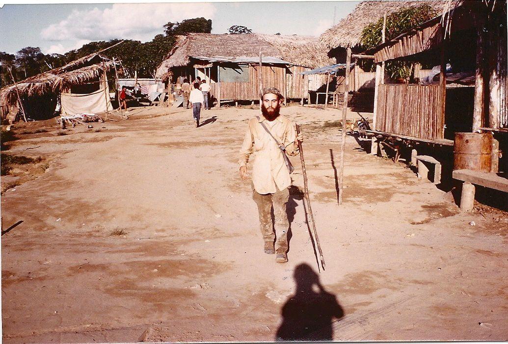 J-P au Pérou.