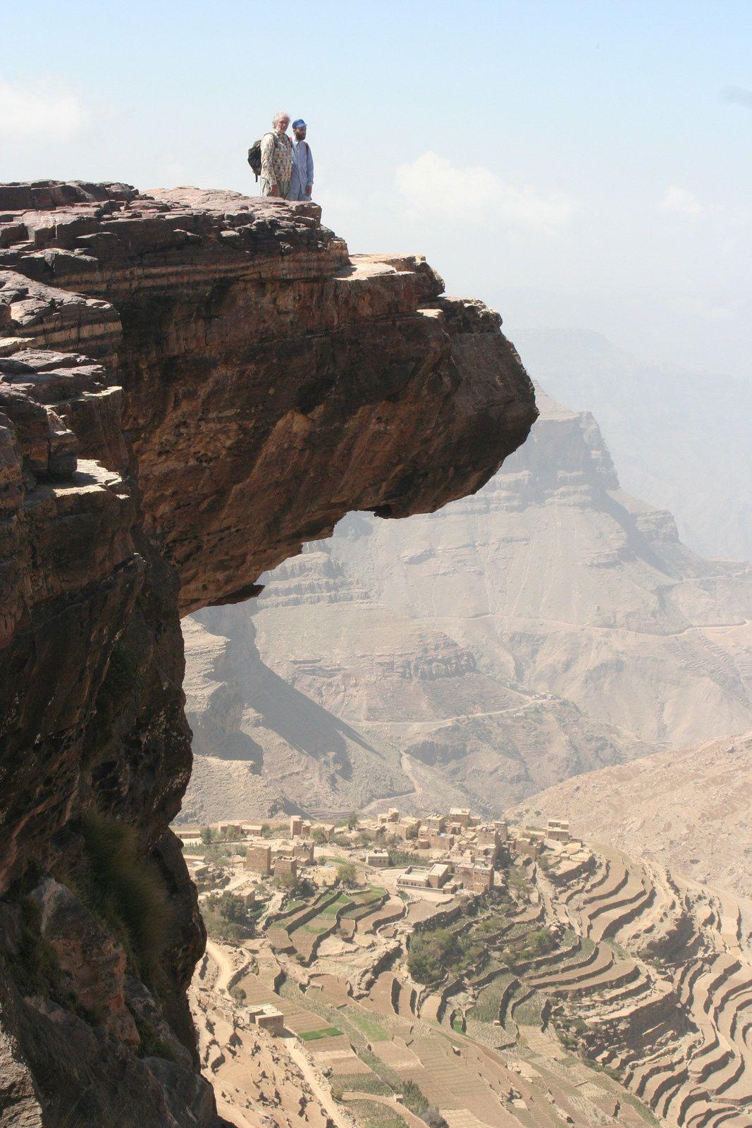 Au dessus du vide avec Jêrome, Yémen