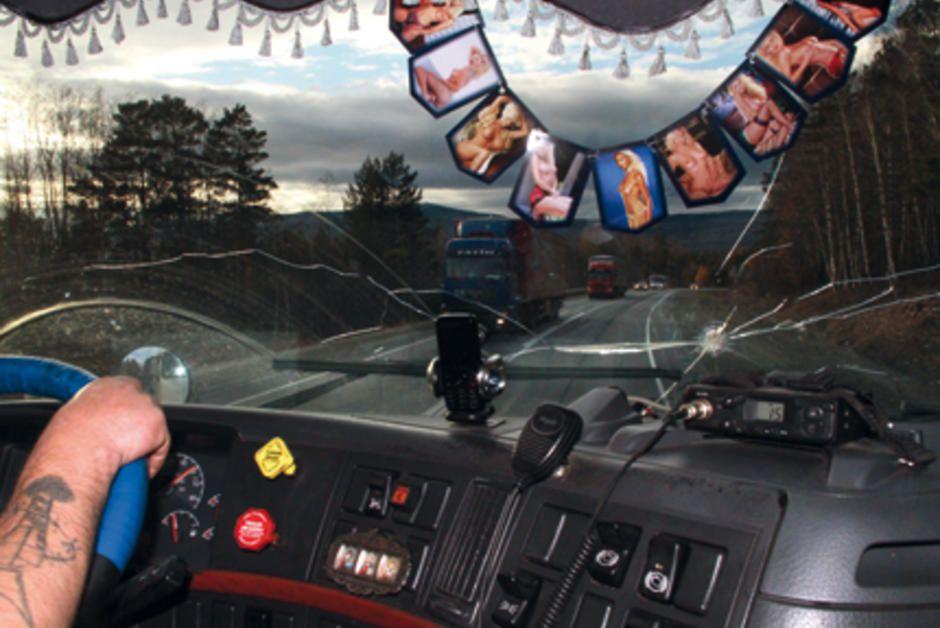 Le camionneur mexicain