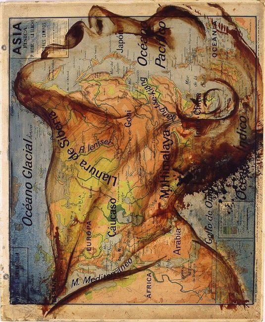 l'enfant et la carte du monde
