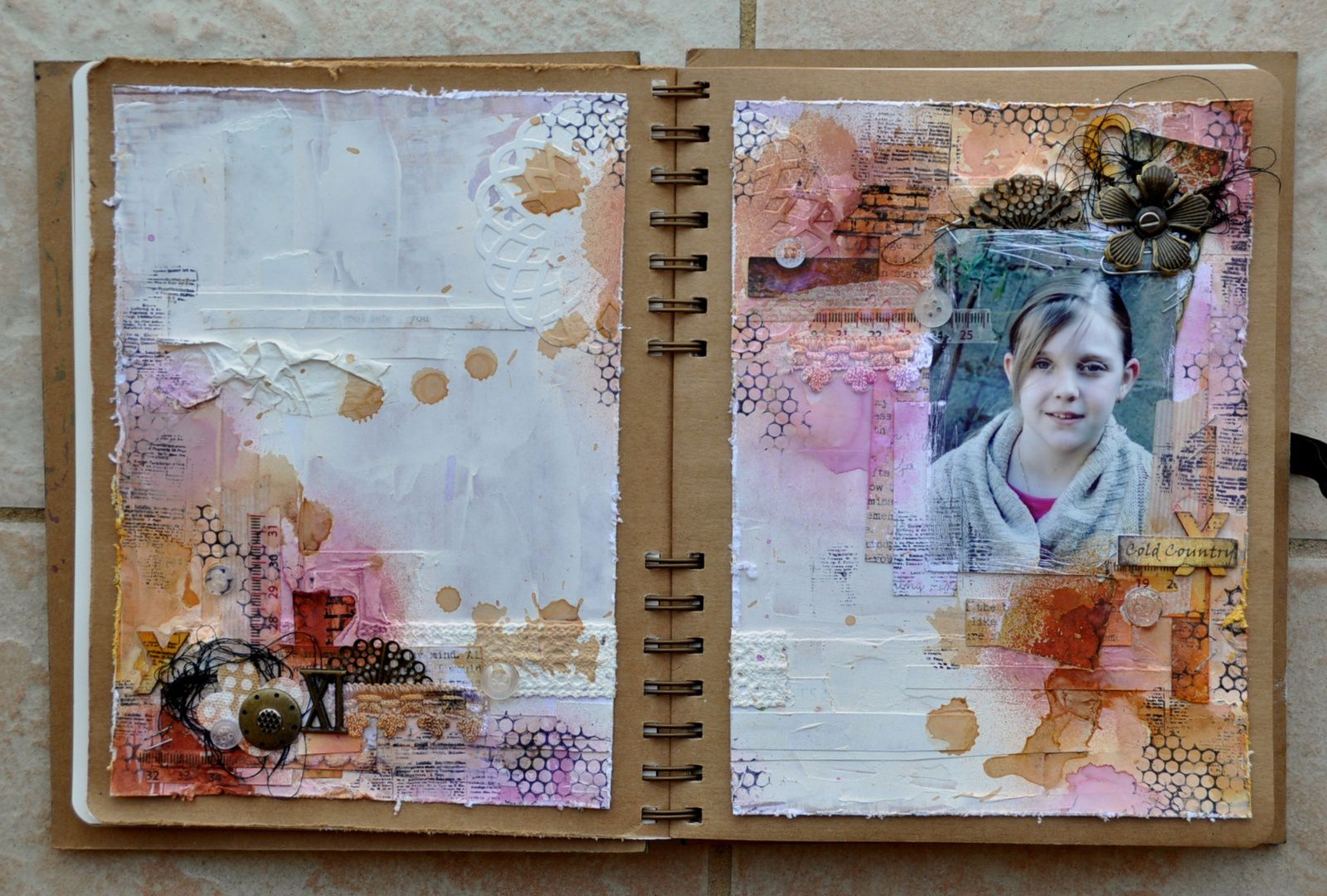 Art journal: Thé story: #4