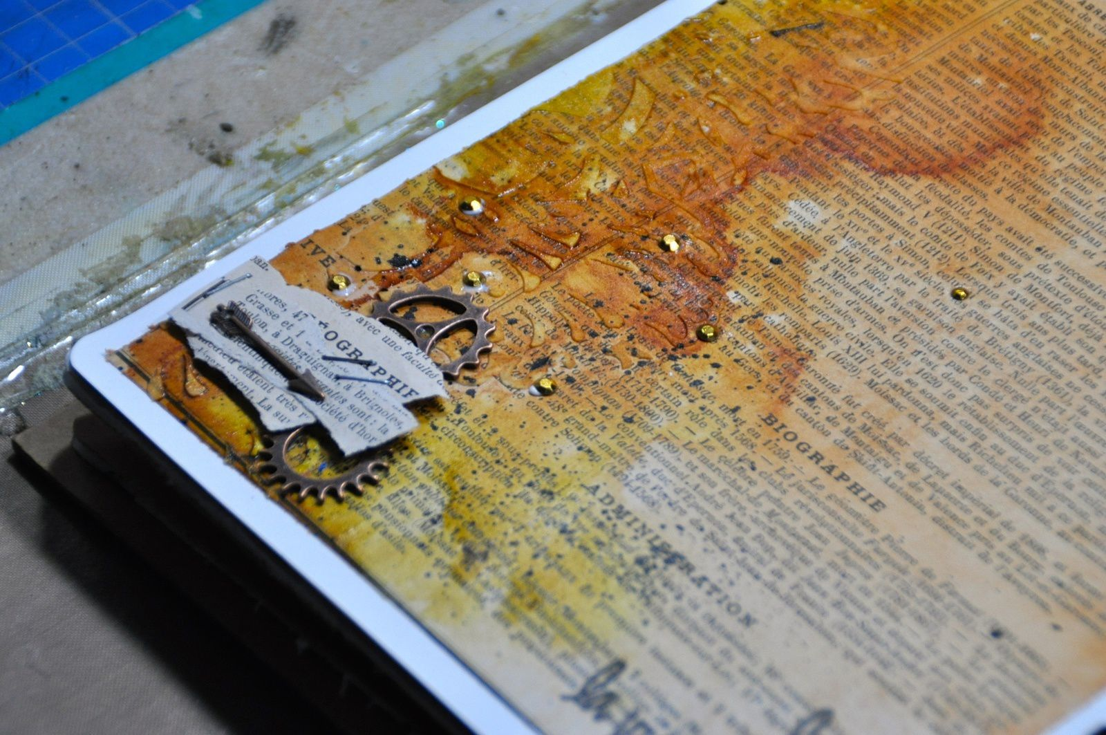 Art journal: Thé story: #5