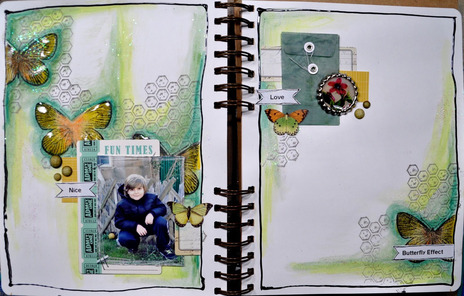 Art journal: Thé story: #7