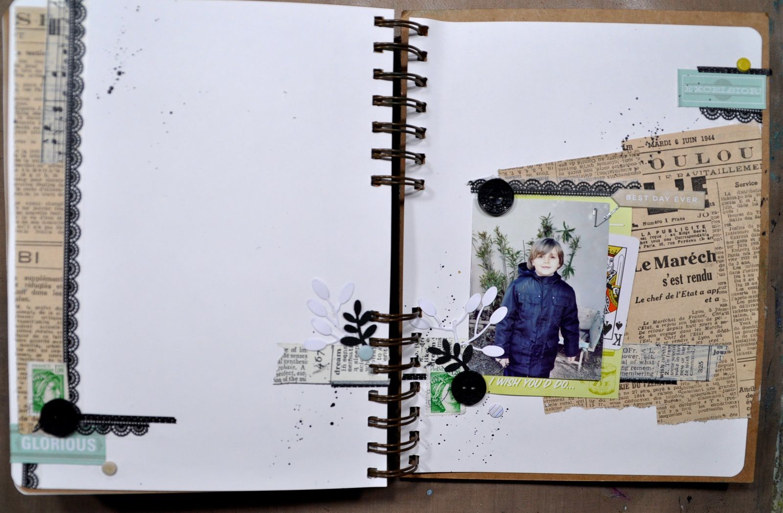 Art journal: Thé story: #11 la fin
