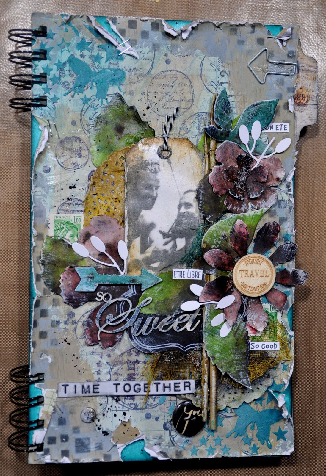 Atelier: &quot&#x3B;Time together&quot&#x3B; pour les scrapzimuts girls &amp&#x3B; boy
