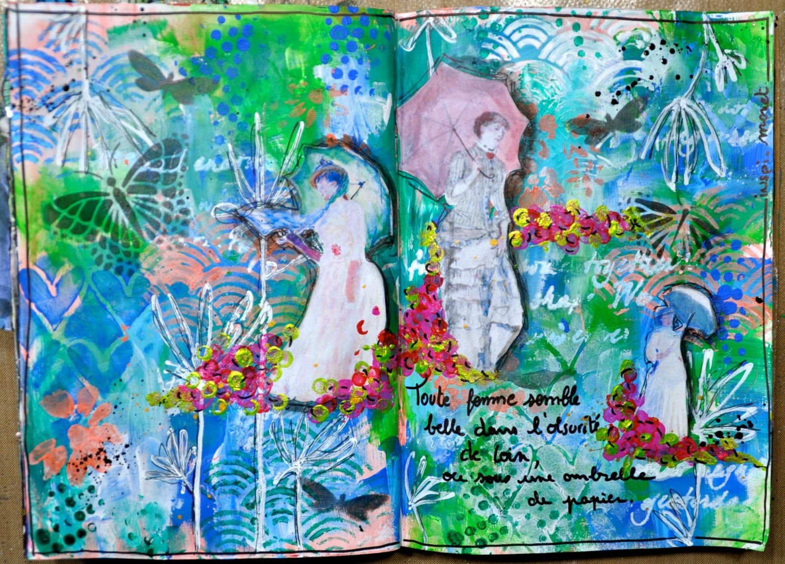 Art journal romance