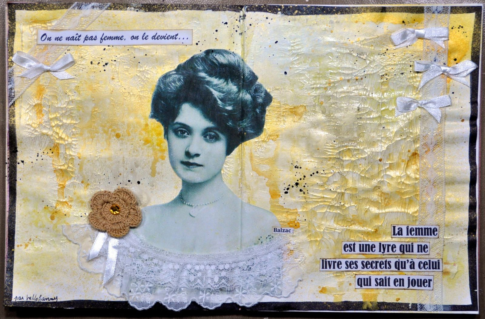 Art Journal Feminité #2