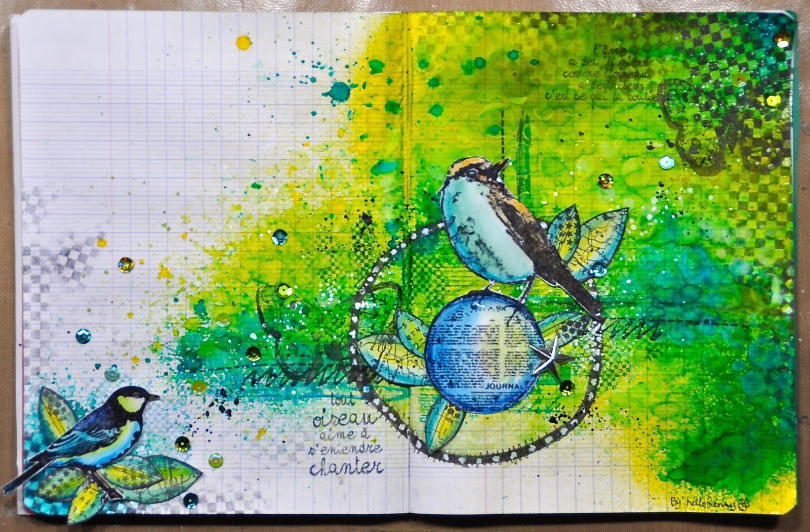 Art journal Nature #1