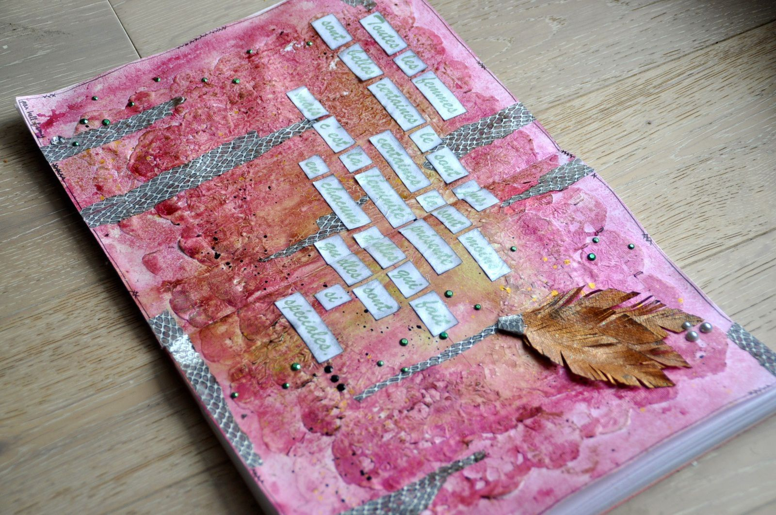 Art Journal Feminité #1