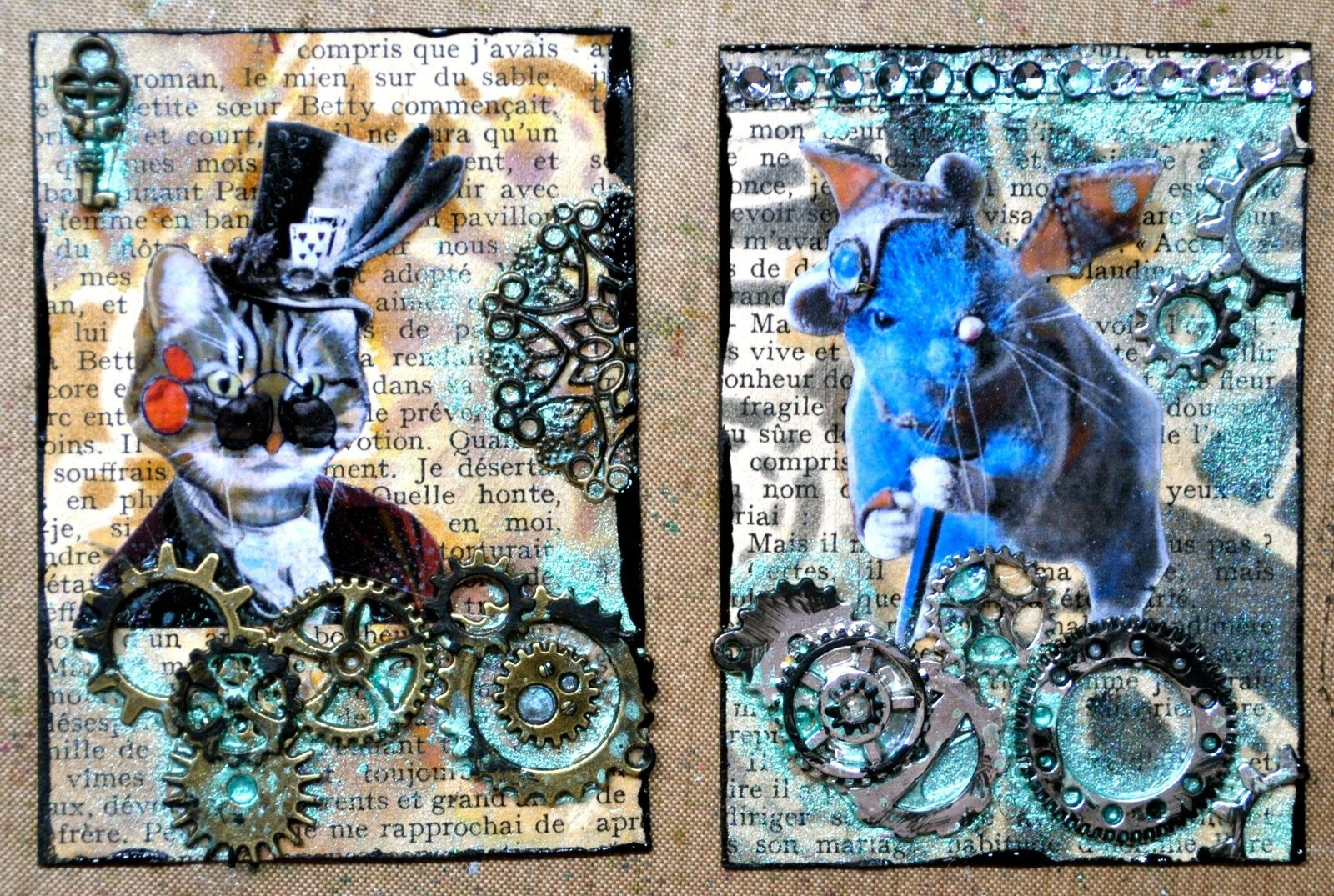 ATC animal steampunk