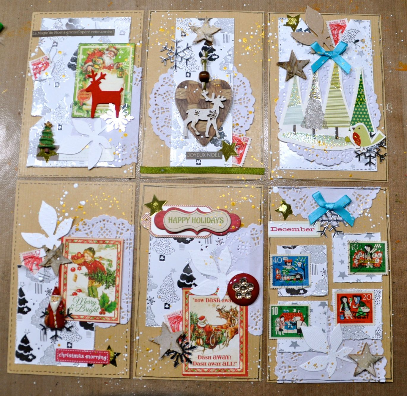 CARTERIE DE NOEL: THE ONE SHEET WONDER CARDS #1