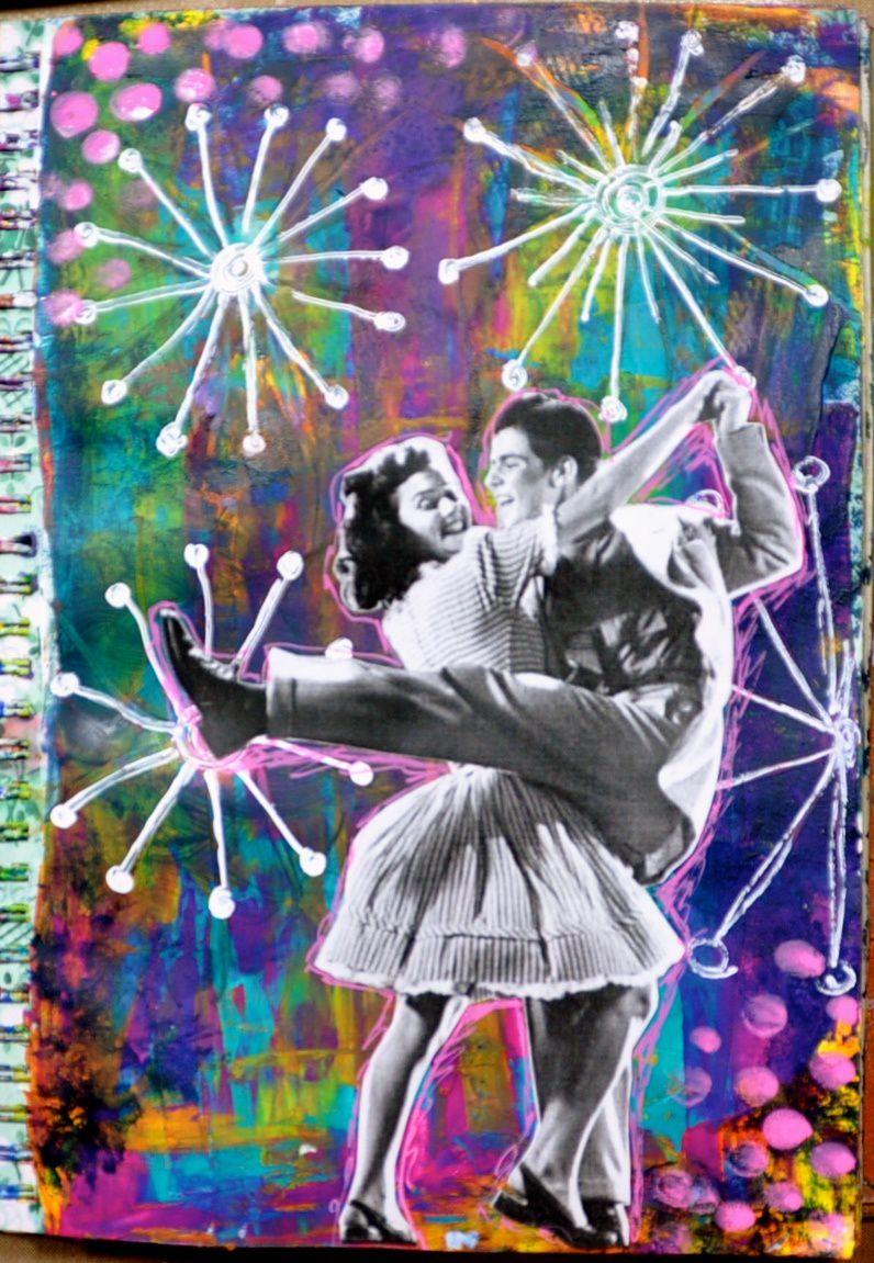 Art journal: j'ouvre les yeux sur #9 On fait la fête!