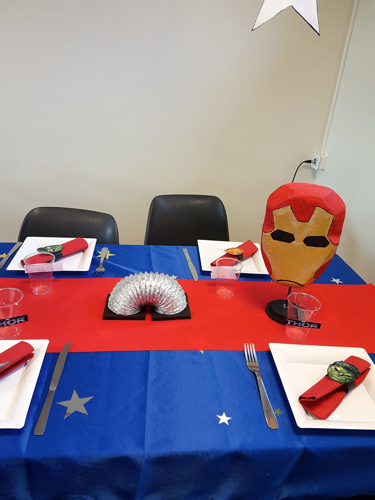 Carabelle: déco de table AVENGERS