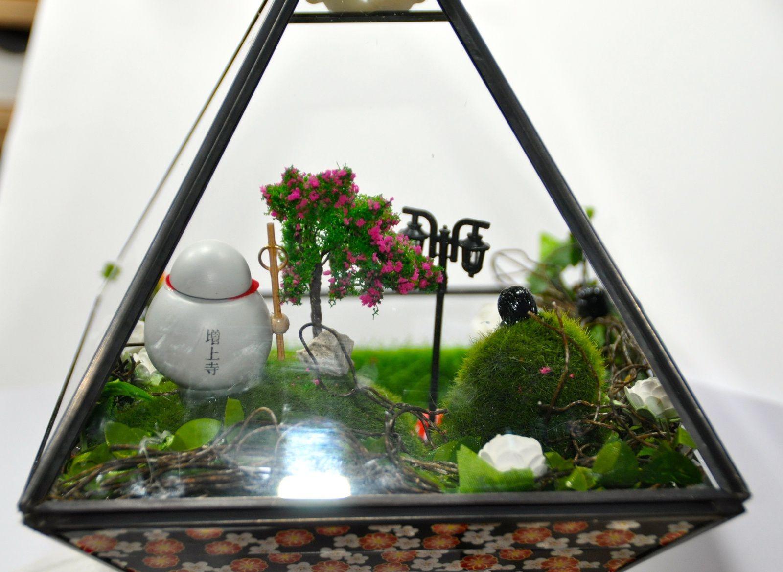 Mon jardin miniature: Jizo