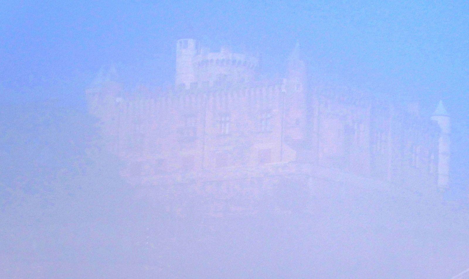 Avec le club VTT VB : au-dessus du brouillard une fois encore