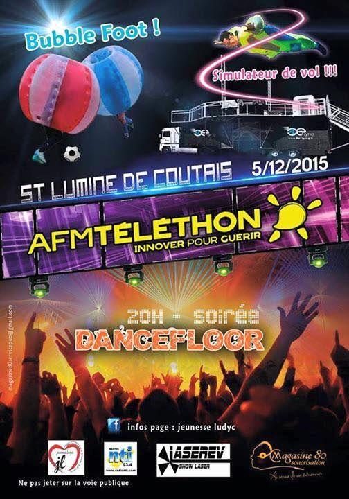 TELETHON 2015 SAINT LUMINE DE COUTAIS