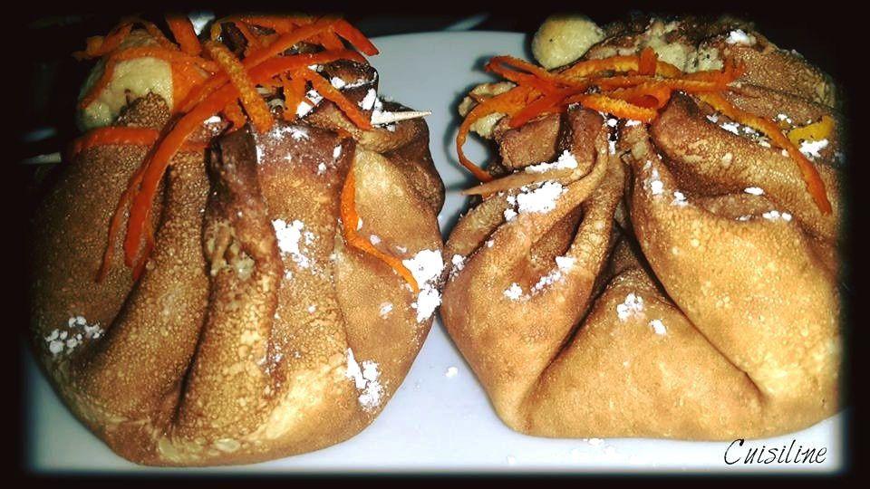 Crêpes Soufflées Orange/Coco