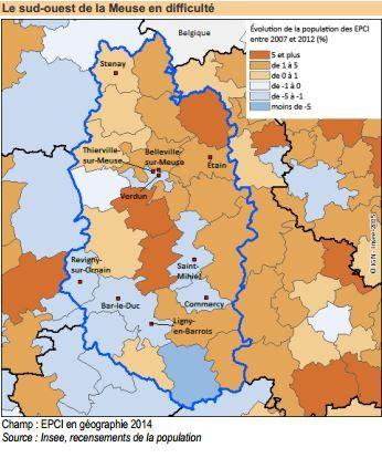 Une démographie atone en Meuse