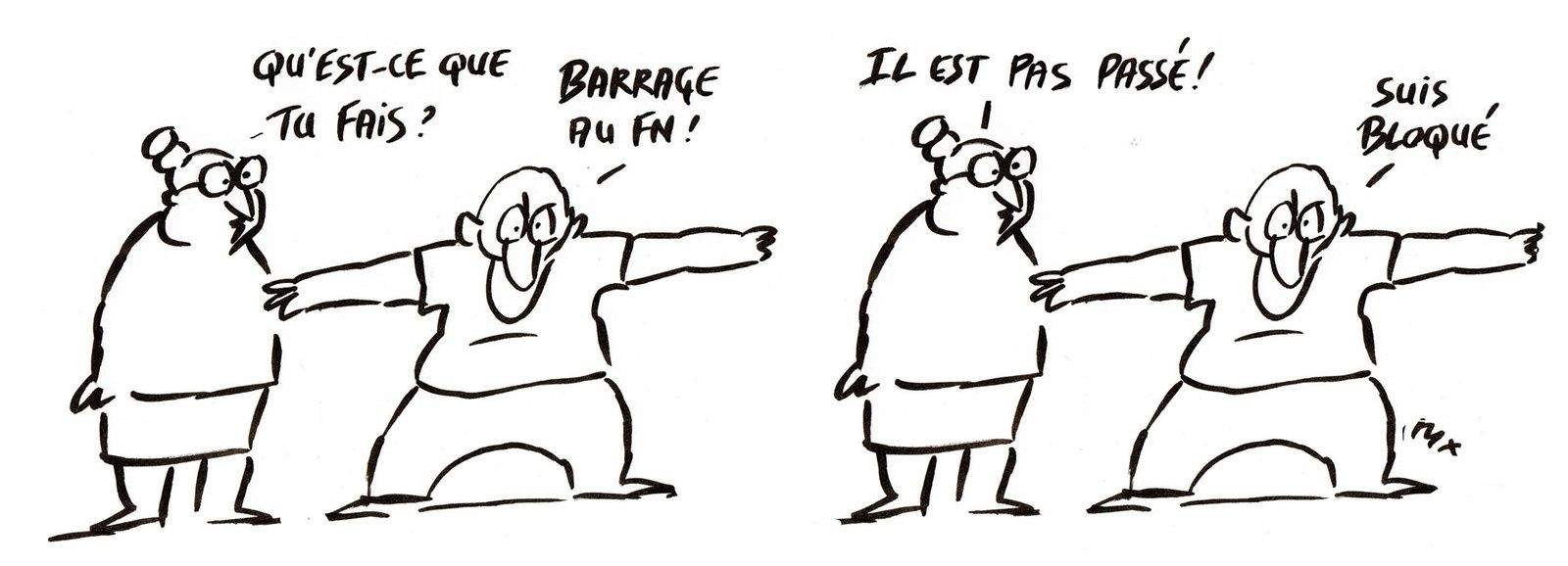 Barrage anti FN...