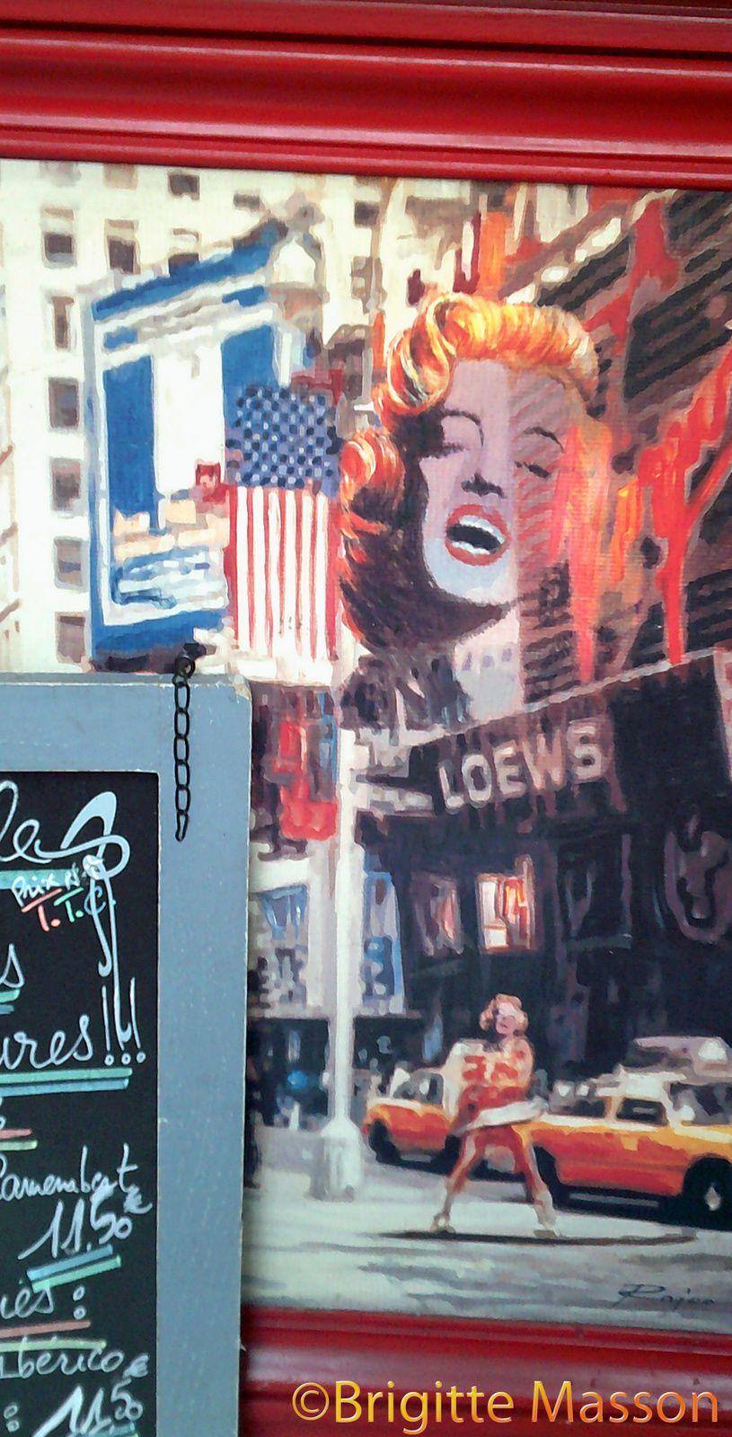 Marilyn et le camembert
