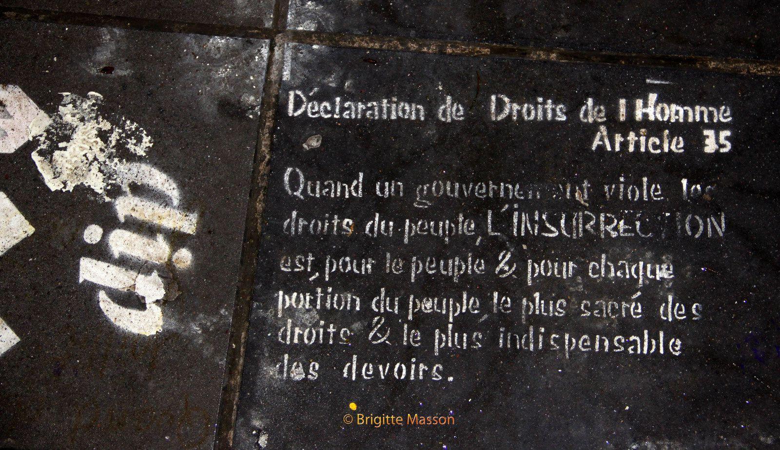 Nuit debout place de la République, les photos