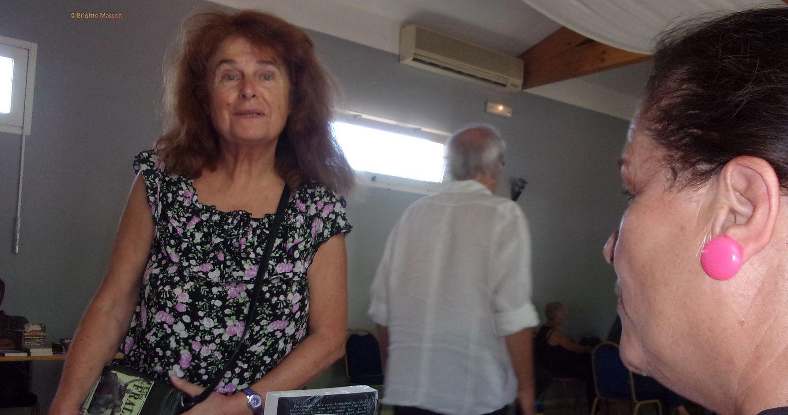 La nièce de Maurice Audin à la fête du PCF 13 à Fabrégoules