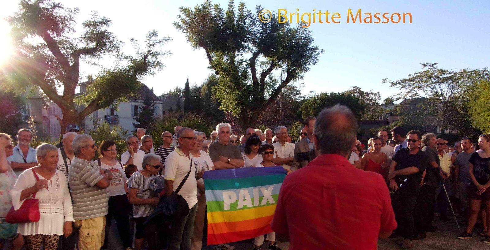 PCF 13 - Inauguration de la statue de Guy Chauveleau sur la PAIX