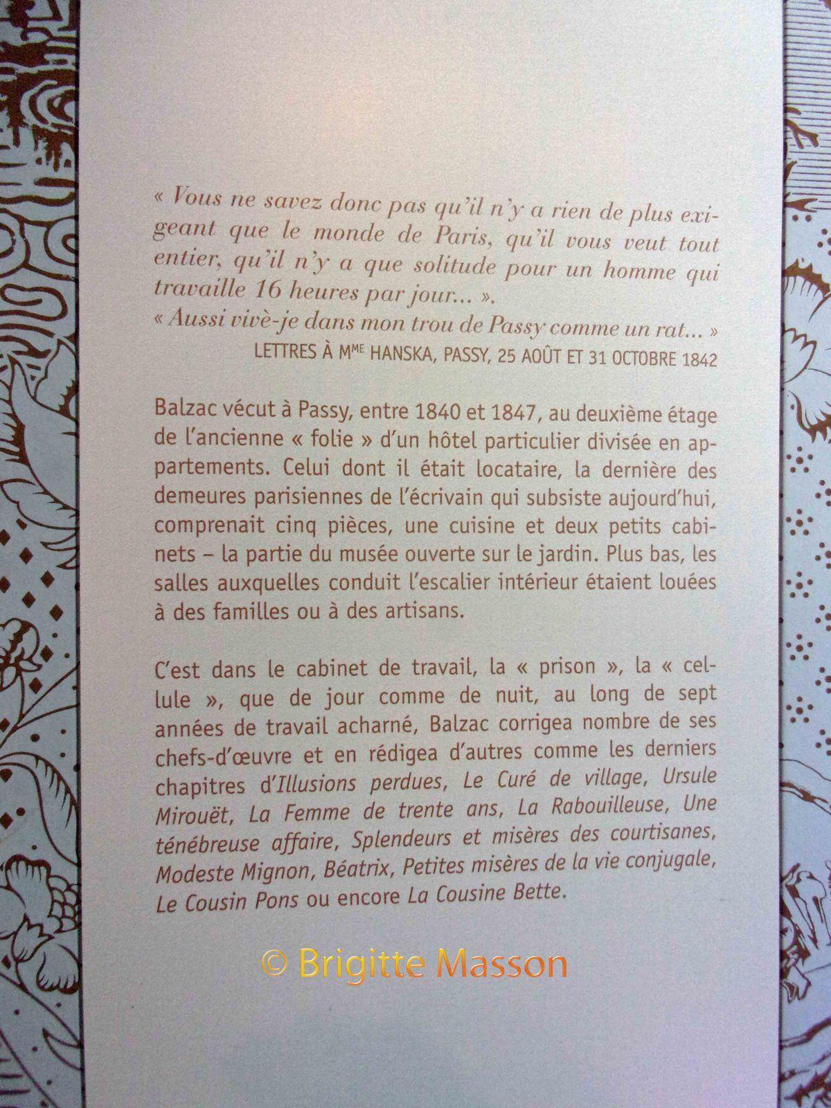 Honoré de Balzac, la maison de Passy - Le Havre et la côte d'Ingouville