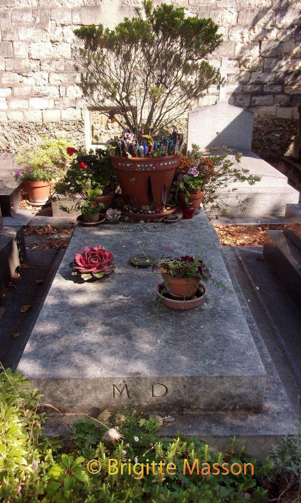 Le cimetière de Montparnasse, Paris