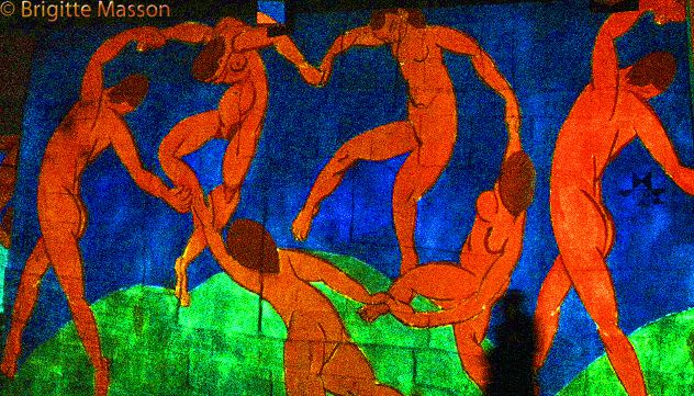 Danseuses à la cathédrale d'images