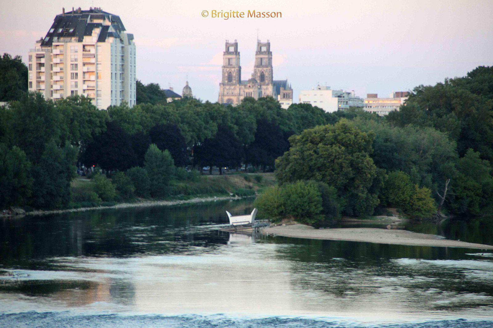 Le lit de la Loire