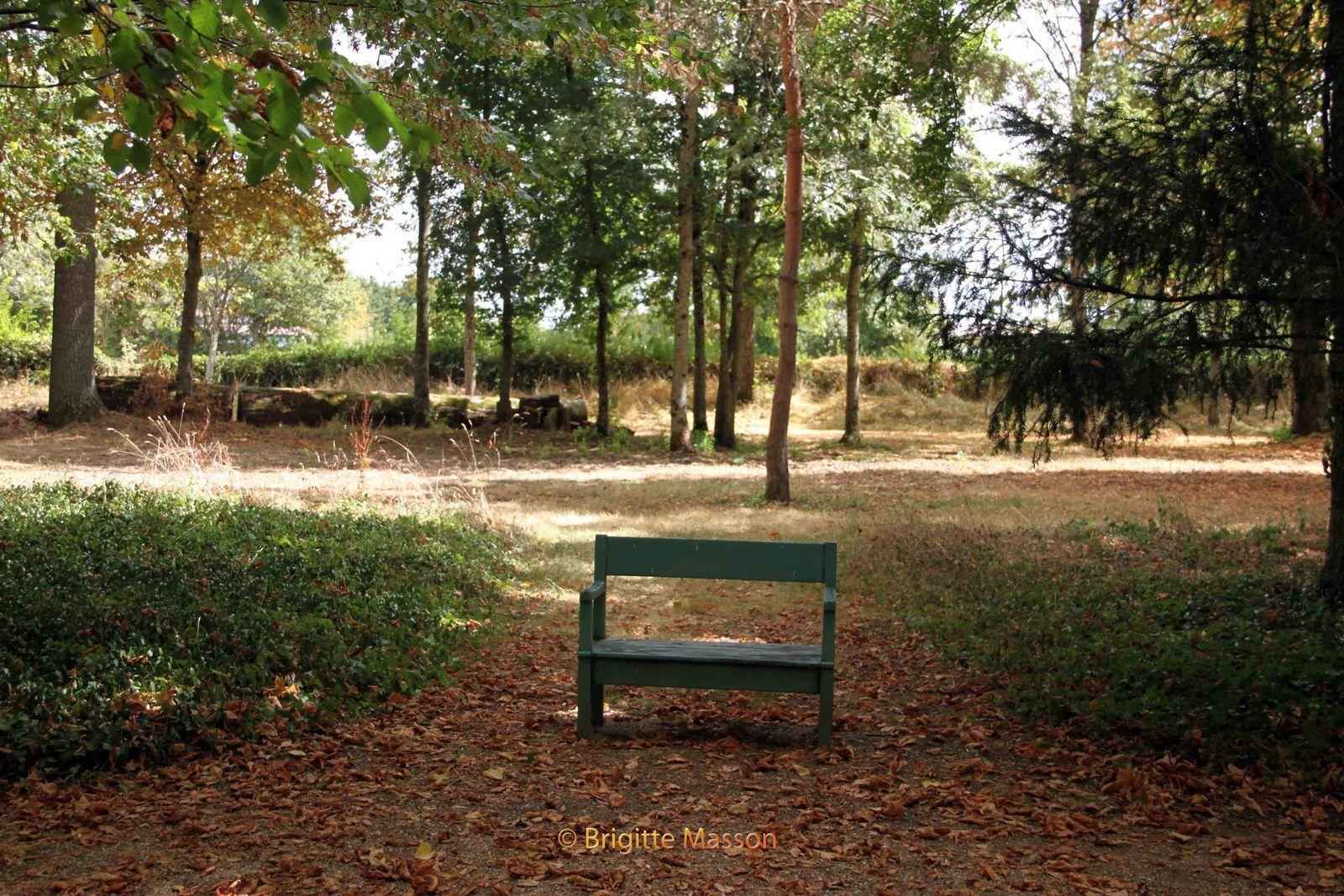 George Sand - Le village - Le jardin de Nohant-