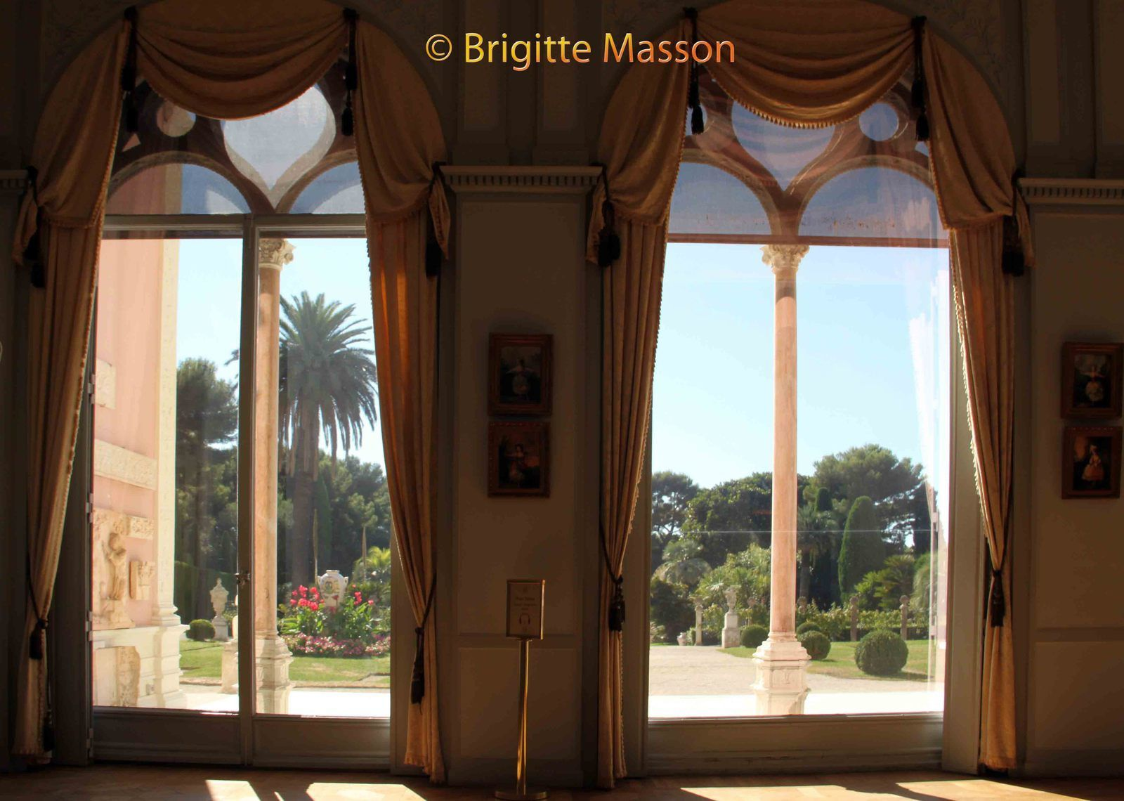La villa Ephrussi-Rothschild - L'intérieur