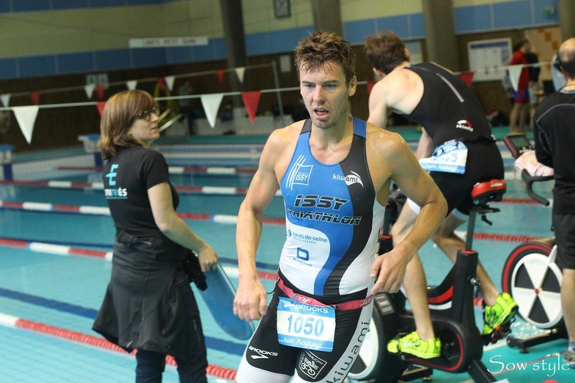 Triathlon supersprint paris 2016 semi indoor
