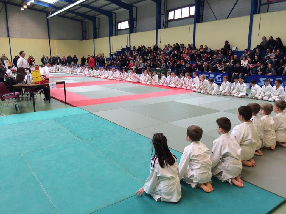 Rencontre interclubs du JUDO CLUB ITANCOURT le 26/03/16