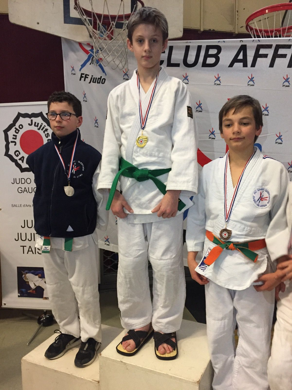 8ème challenge du Judo Club de Gauchy les 11 et 12/02/2017