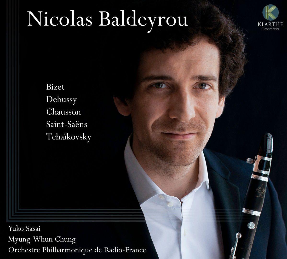 Le nouveau CD du clarinettiste Nicolas Baldeyrou