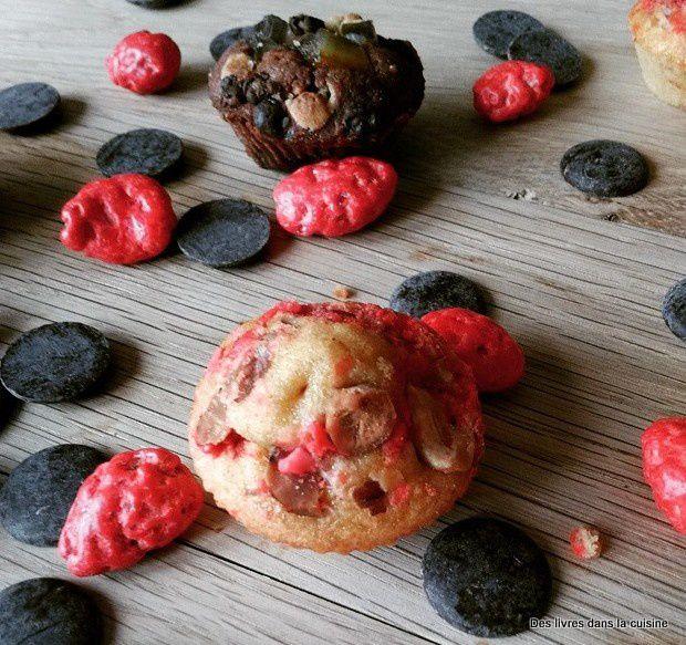 Mini moelleux chocolat-orange ou pralines roses pour Léïa